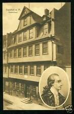 Frankfurt / Main, Goethe, Goethehaus, 1911
