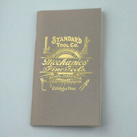 ca.1899 STANDARD TOOL CO CATALOG Mechanics' Fine Tools (Softcover, Reprint)