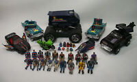 Gros lot M.A.S.K. VENOM 7 véhicules 19 personnages 9 mask CPG KPT KENNER 1985-86