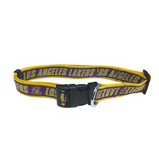New listing Nba Los Angeles Lakers Pet Collar [Large - 1� W X 18-28� L] Pets First Brand