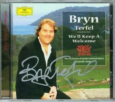 Bryn TERFEL Signed WE'LL KEEP A WELCOME The Welsh Album Cymru fach Calon lan CD