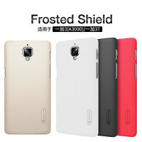 Nillkin Super Frosted Shield Matte Armor Phone Back Cover Cases For OnePlus 3/3T