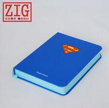 Superheros Ally Hardbound sketchbook SUPERMAN inner Blue drawing paper notebook