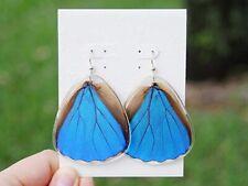 Real Butterfly Wings Earrings Jewelry