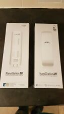 2x Ubiquity NanoStation M5 NSM5