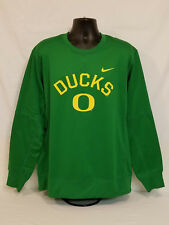 Oregon Ducks Football Nike Therma-fit Sweatshirt Long Sleeve Shirt Men's XL