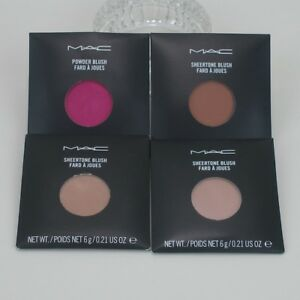 MAC Powder Blush Pro Palette Refill Pan Opt Margin Sincere Peachtwist Gingerly +