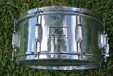ADD this PEARL 6.5X14 CHROME SNARE to YOUR DRUM SET TODAY! LOT #M188