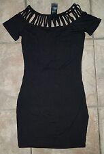 NWT- Women's Bebe Morgan Cut Out Dress Size XS. BEBE Little Black Dress