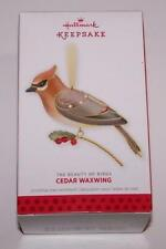 2013 Hallmark Ornament - Beauty of the Birds - Cedar Waxwing - 9th in Series