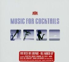 Music for Cocktails 1 2CDs Top Lounge Electro Grooves Thievery Corporation