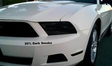 2010-12 Mustang precut Head light & Front Side Marker Dark Smoke Overlay Set