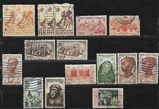 Lot de 17 timbres - Afrique Occidentale Française - Oblitérés - (3)