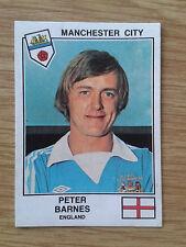 Peter Barnes Manchester City panini euro 79 Sticker