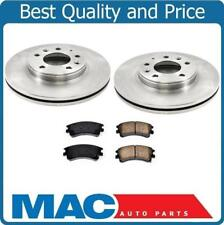 Fits For 2003-2005 Mazda 6 Front Disc Brake Rotor & Ceramic Brake Disc Pads 3Pc