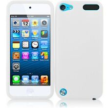 For Apple Ipod Touch 5 Silicone Skin Cover Case - White