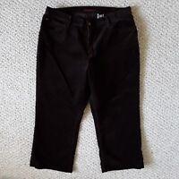 Eddie Bauer Women's Corduroy Brown Pants Big Plus Size 20W