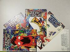 DC Comic Lot Zero Hour Issues #4-#0 first print (1994) NM/VF