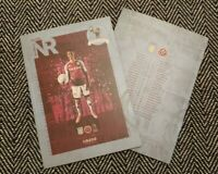 Aston Villa v Sheffield United 21/9/20 PL MATCH PROGRAMME! LAST FEW!!!