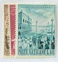 Vatican City #281-283 MNH CV$2.75