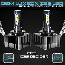 Stark 72W 7600LM Headlight LED Canbus Conversion Kit 6000K White - D3S D3R D3C