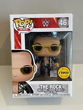 Funko Pop! Wwe: The Rock - Chase Edition #46 New Vinyl*