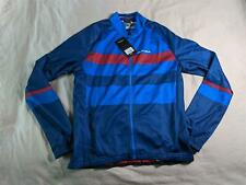 Altura Men's Airstream Long Sleeve Cycling Jersey KB8 Blue Large NWT