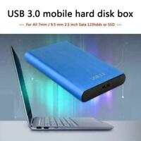 2TB USB 3.0 Portable External Hard Drive Ultra Slim Storage SSD Device Portable