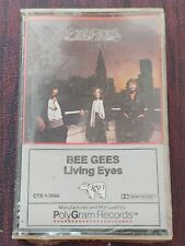 """Bee Gees Cassette Tape """"Living Eyes"""" 1981 Brand New Sealed CTX-1-3098"""