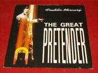 """Freddie Mercury:  Great Pretender    UK    1987  EX   7"""""""