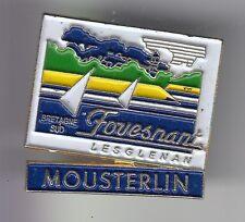 RARE PINS PIN'S .. TOURISME ILES BRETAGNE MOUSTERLIN GLENANS FOUESNANT 29 ~DJ