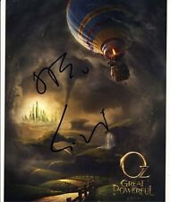[2032] James Franco Sam Raimi OZ Signed 10x8 Photo AFTAL