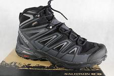 Salomon Boots X Ultra 3 Mid GTX Black/Grey Waterproof Gore-Tex New