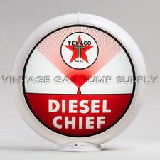 "Texaco Diesel Chief 13.5"" Gas Pump Globe (G193) FREE SHIPPING - U.S. Only"