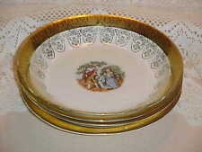 Taylor Smith Taylor TST444 George & Martha Washington Pattern Soup Bowl  Set