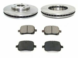 For 1997-1999 Toyota Camry Brake Pad and Rotor Kit Front 26255VZ 1998 3.0L V6