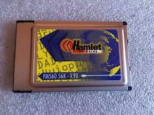 Scheda modem HAMLET PC CARD MODEM FM560 56K V 90 PCMCIA