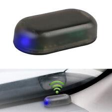Solar Energy Simulation Dummy Anti-Theft Alarm Warning Security Blue Flash Light