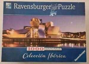 RAVENSBURGER  Guggenheim Museum, Bilbao 1000 Piece Panorama Jigsaw Puzzle. EC