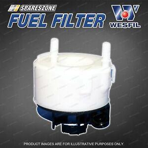 Wesfil Fuel Filter for Hyundai Santa Fe CM 3.5L V6 Petrol Refer Z905