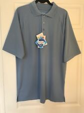Extreme brand Sport Activewear Polo Shirt size Medium color Ceramic Blue NWT