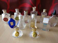 Miniature de parfum - Lot de 12 miniatures anciennes vides et sans boîtes