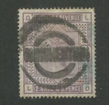 1883 Great Britain Stamp #96 2sh6p Used Very Fine Complete Postal Cancel