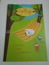 Father Father's Day Card Gibson To Anyone Hammock Dog Kick Back Feel Special