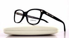 NEW Authentic VERSACE Black Gold Stud Eye Glass Frame Glasses VE 3190 GB1