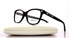 RARE Authentic Versace Black Gold Stud Eyeglasses Frame Glasses Ve 3190 Gb1