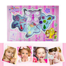 Fashion Girls Butterfly Cosmetic Makeup Set For Kids Eyeshadow Lip Gloss Blushes