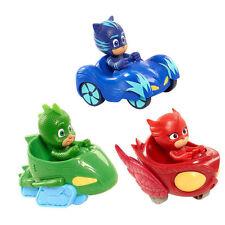 3pcs/set  New PJ Masks Gekko Catboy Owlette Mobile Vehicle Car Kid Toy Figure