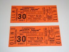 THOROUGHLY MODERN MILLIE 1967 MOVIE TICKETS Julie Andrews Mary Tyler Moore USA