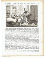 """1825 Saints """"Saint Amé Eveque de Sion Patron de Douai"""" (Aimé Amat Amé San Amato)"""